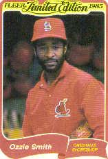 1985 Fleer Limited Edition #35 Ozzie Smith