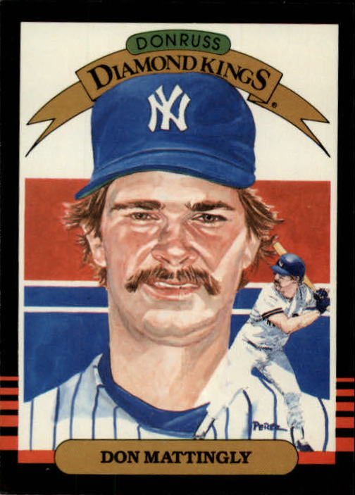 1985 Leaf/Donruss #7 Don Mattingly DK