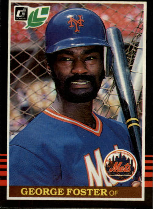 1985 Leaf/Donruss #42 George Foster