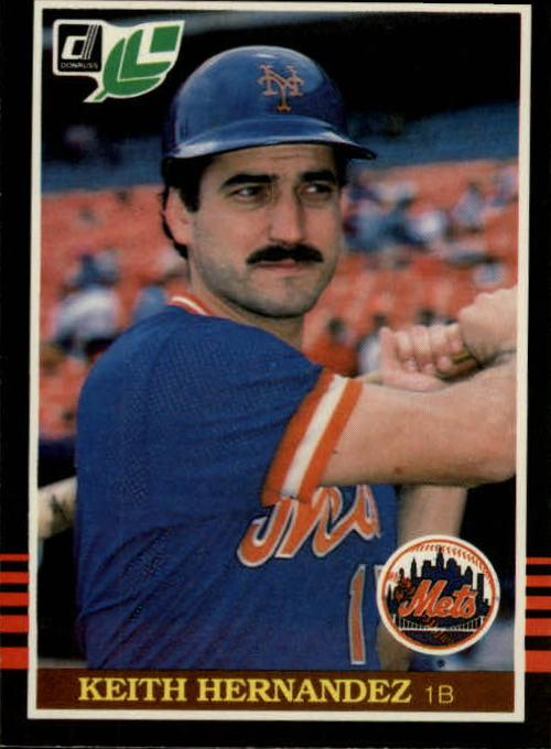 1985 Leaf/Donruss #62 Keith Hernandez