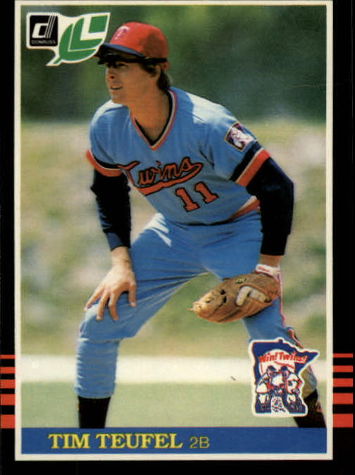1985 Leaf/Donruss #97 Tim Teufel