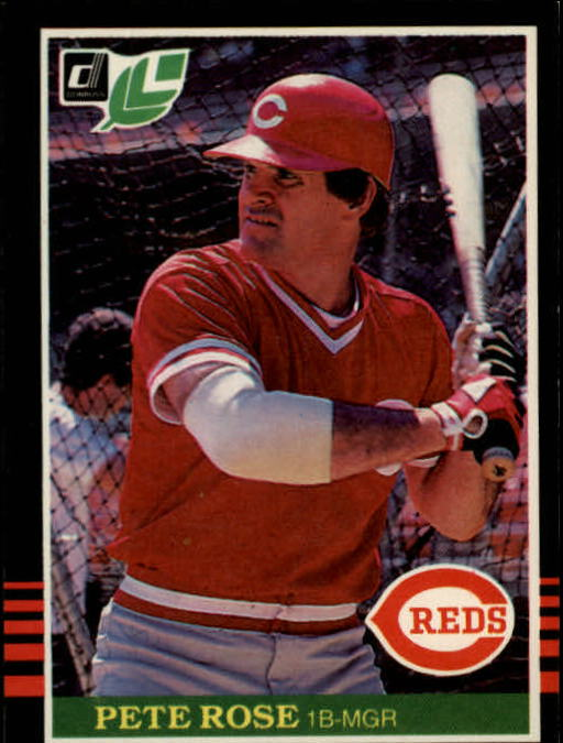 1985 Leaf/Donruss #144 Pete Rose