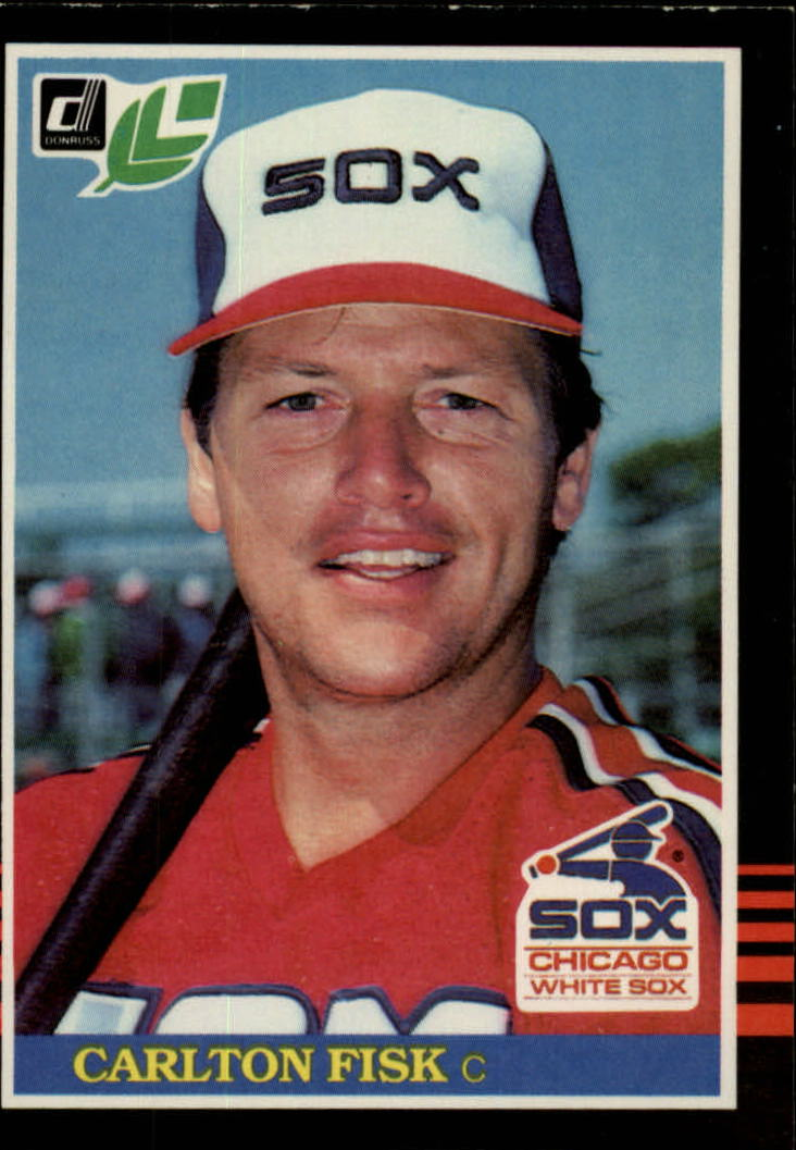1985 Leaf/Donruss #155 Carlton Fisk