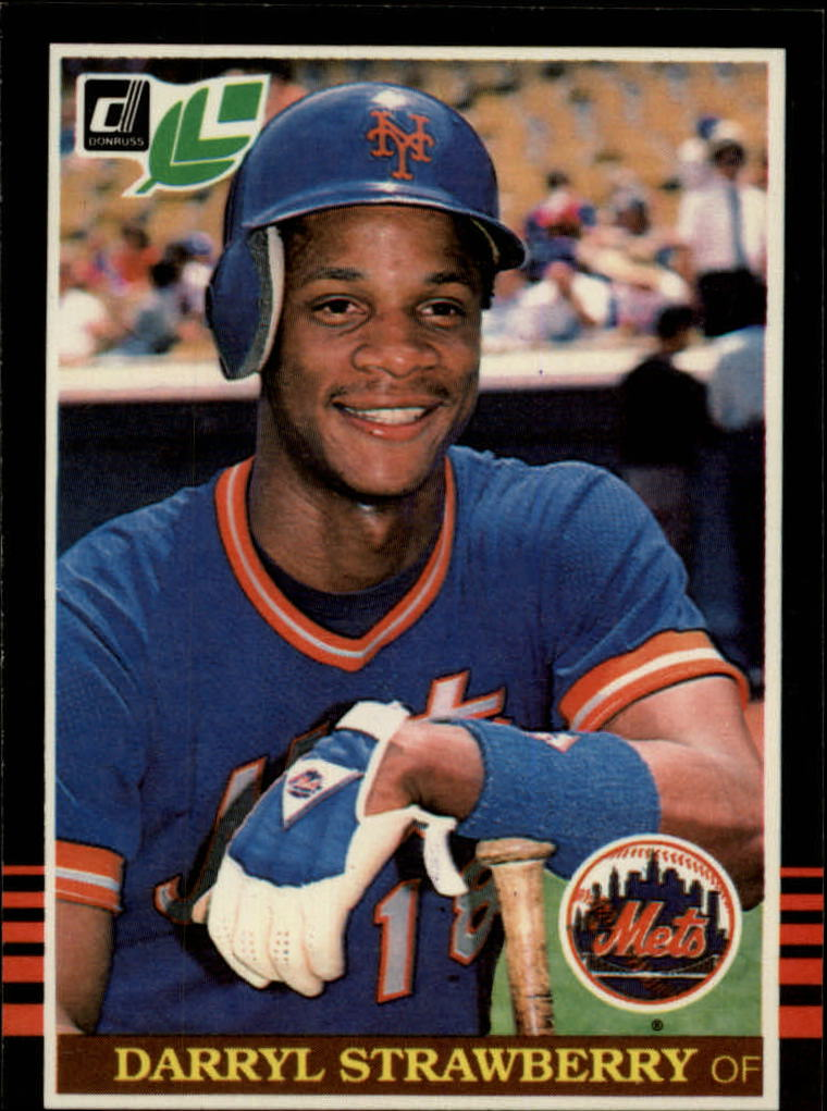 1985 Leaf/Donruss #159 Darryl Strawberry