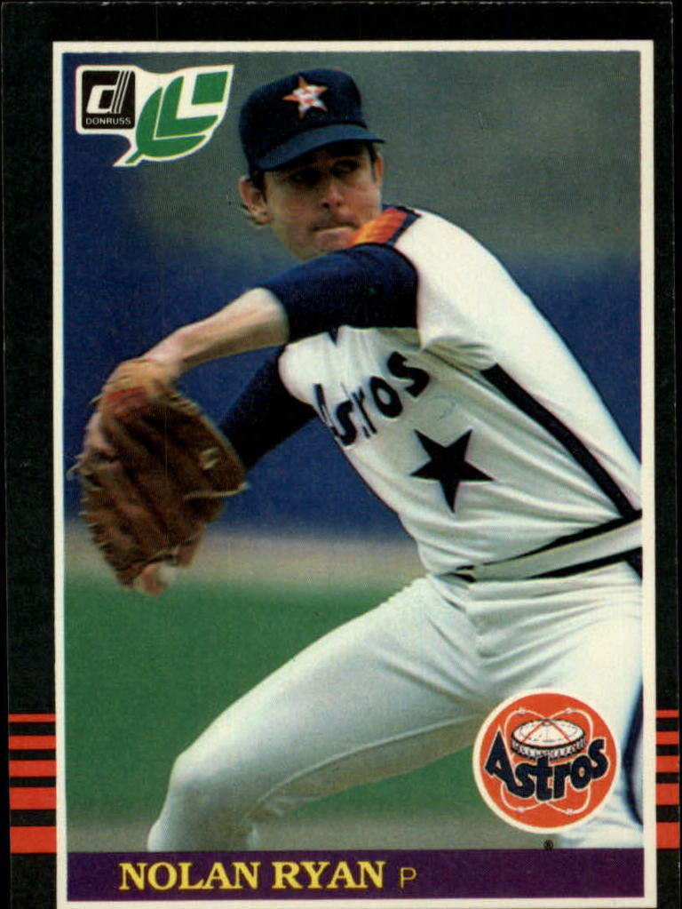 1985 Leaf/Donruss #216 Nolan Ryan