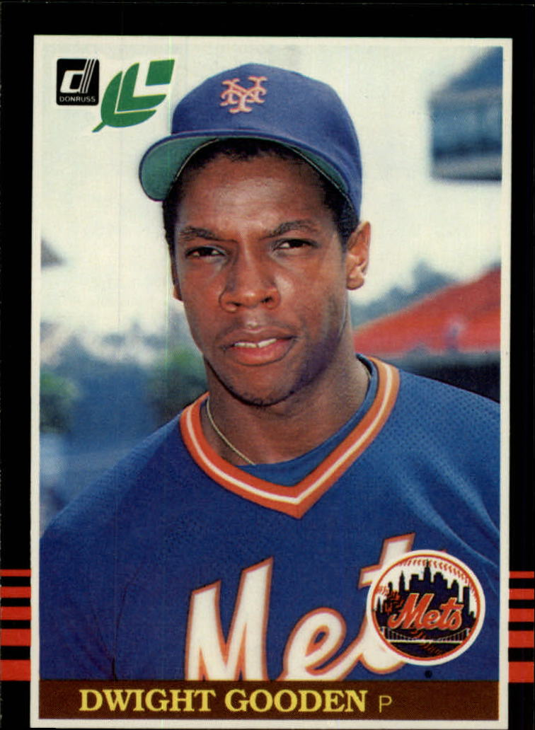 1985 Leaf/Donruss #234 Dwight Gooden RC front image