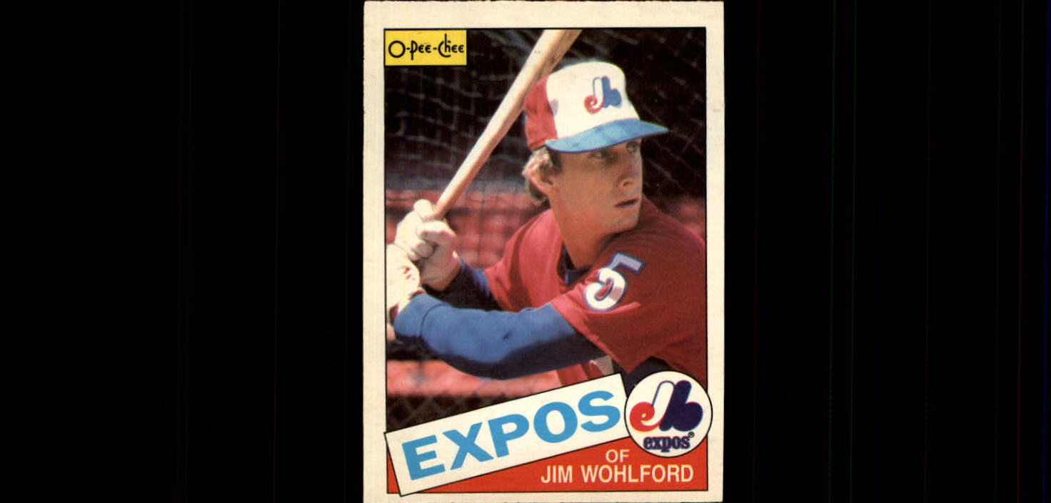 1985 O-Pee-Chee #4 Jim Wohlford