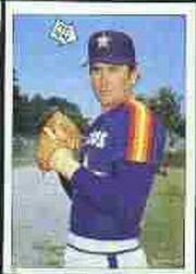1985 Topps Stickers #58 Nolan Ryan