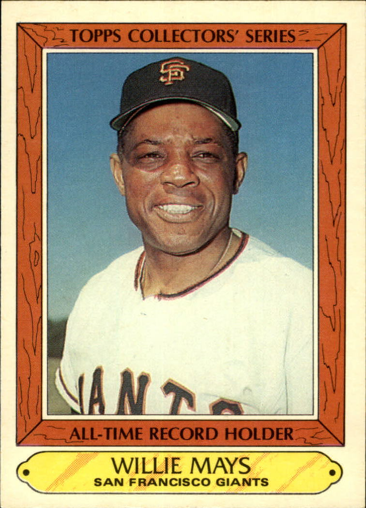 1985 Woolworth's Topps #26 Willie Mays
