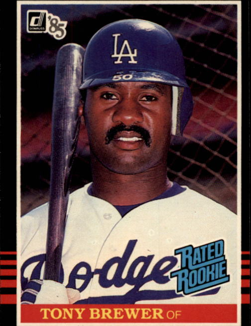 1985 Donruss #31 Tony Brewer RC