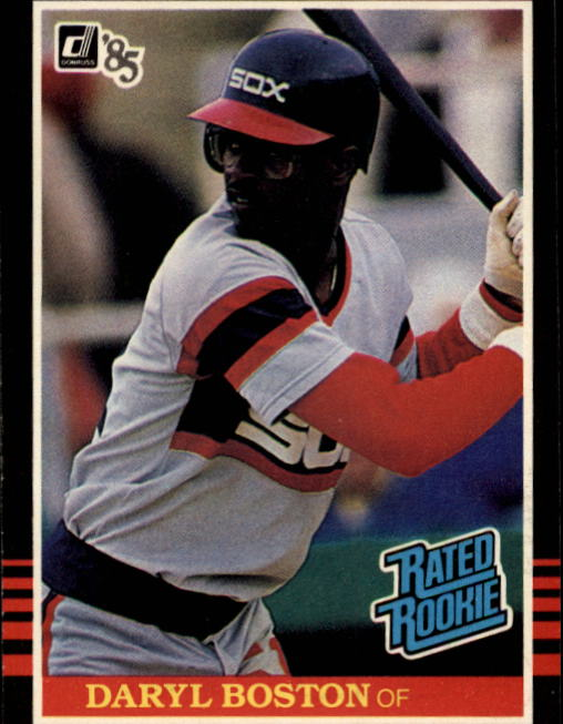 1985 Donruss #33 Daryl Boston RC