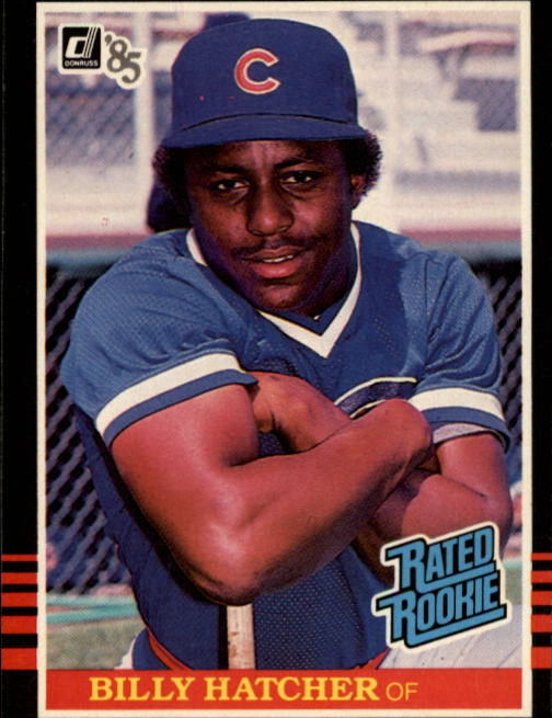 1985 Donruss #41 Billy Hatcher RC