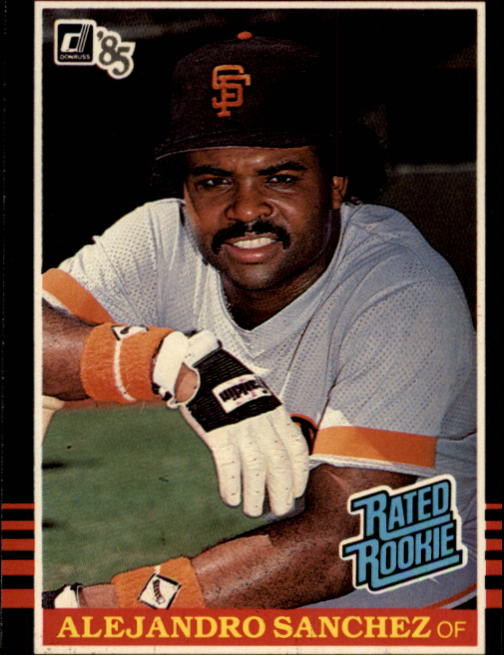 1985 Donruss #43 Alejandro Sanchez RC