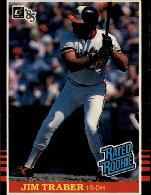 1985 Donruss #45 Jim Traber RC
