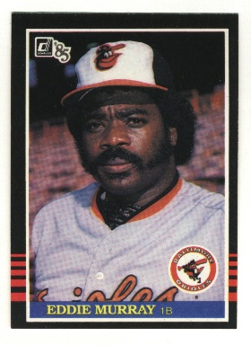 1985 Donruss #47 Eddie Murray