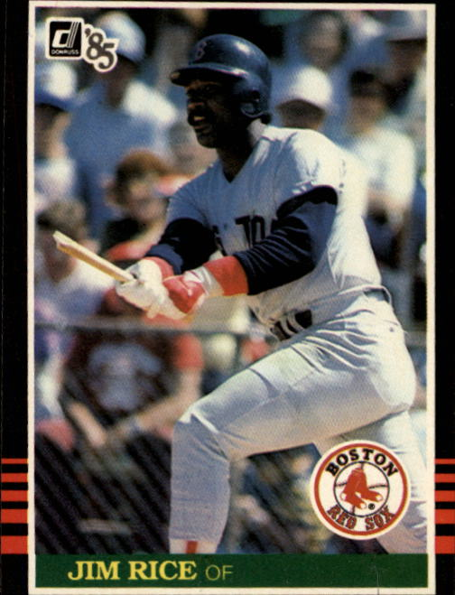 1985 Donruss #50 Jim Rice