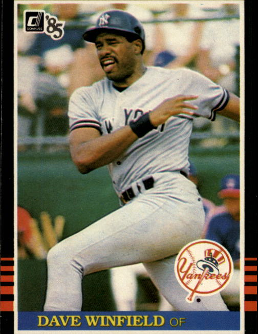 1985 Donruss #51 Dave Winfield