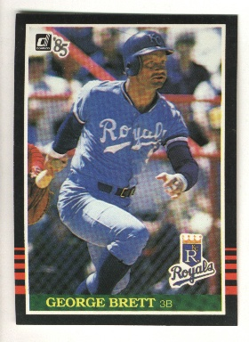 1985 Donruss #53 George Brett