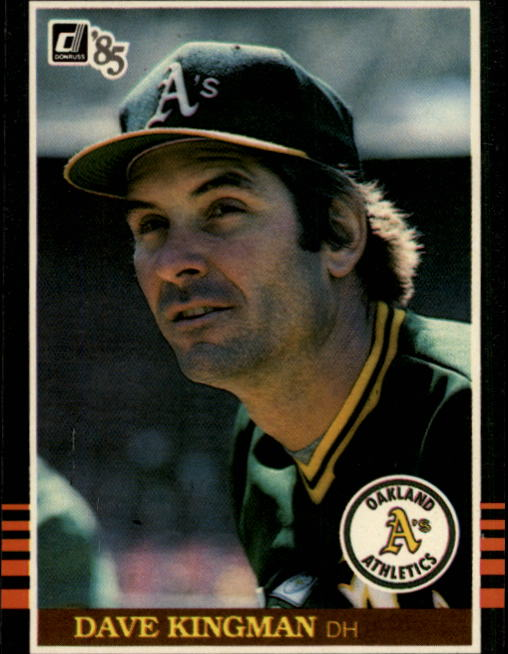 1985 Donruss #54 Dave Kingman