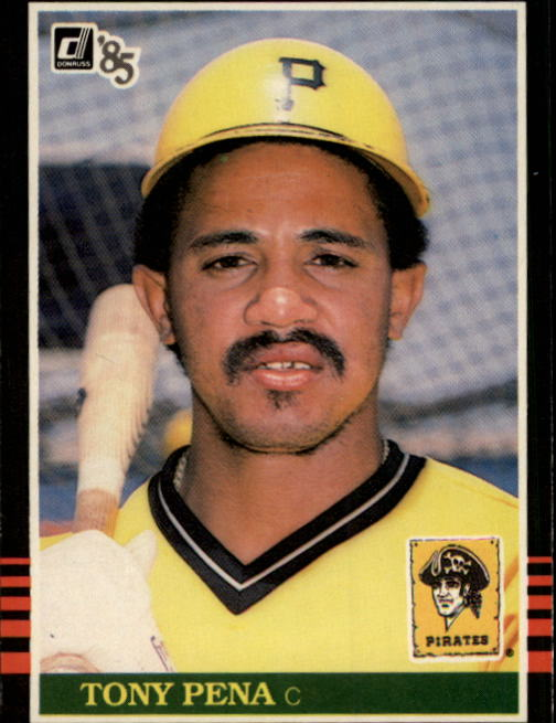 1985 Donruss #64 Tony Pena