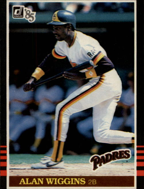 1985 Donruss #80 Alan Wiggins