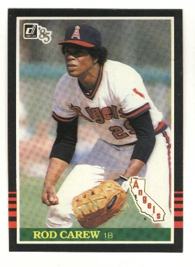 1985 Donruss #85 Rod Carew