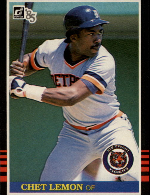 1985 Donruss #90 Chet Lemon