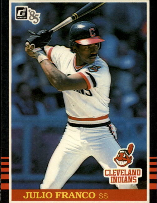 1985 Donruss #94 Julio Franco