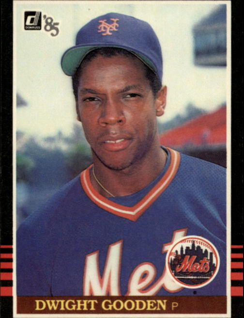 1985 Donruss #190 Dwight Gooden RC