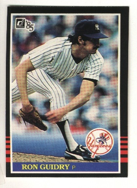 1985 Donruss #214 Ron Guidry