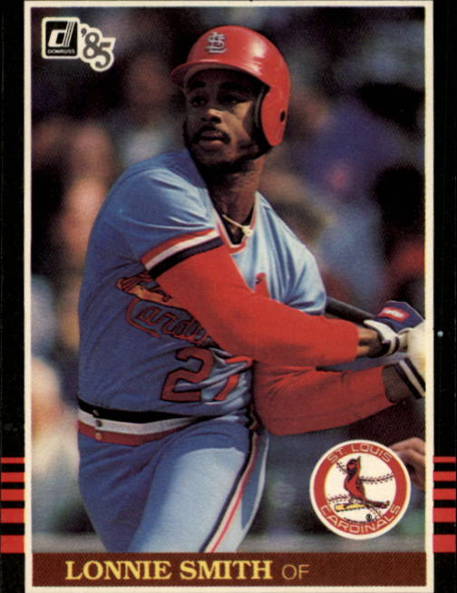 1985 Donruss #231 Lonnie Smith
