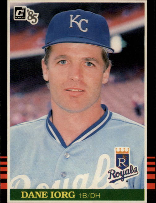 1985 Donruss #252 Dane Iorg