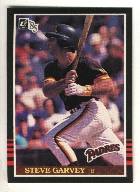 1985 Donruss #307 Steve Garvey