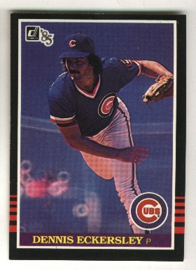 1985 Donruss #442 Dennis Eckersley