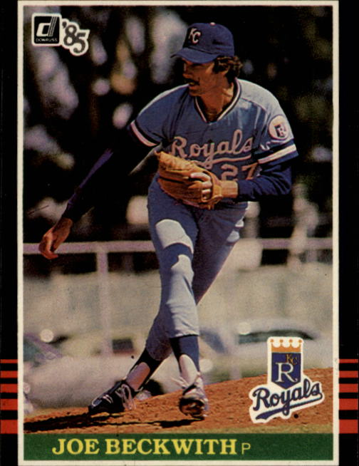 1985 Donruss #541 Joe Beckwith