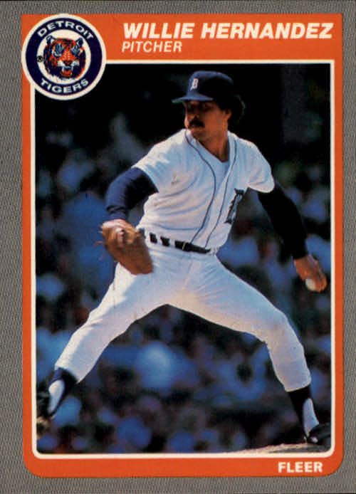 1985 Fleer #10 Willie Hernandez