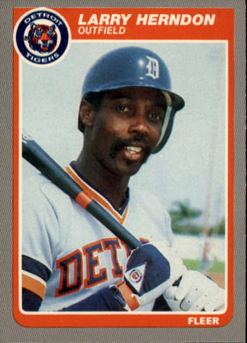 1985 Fleer #11 Larry Herndon