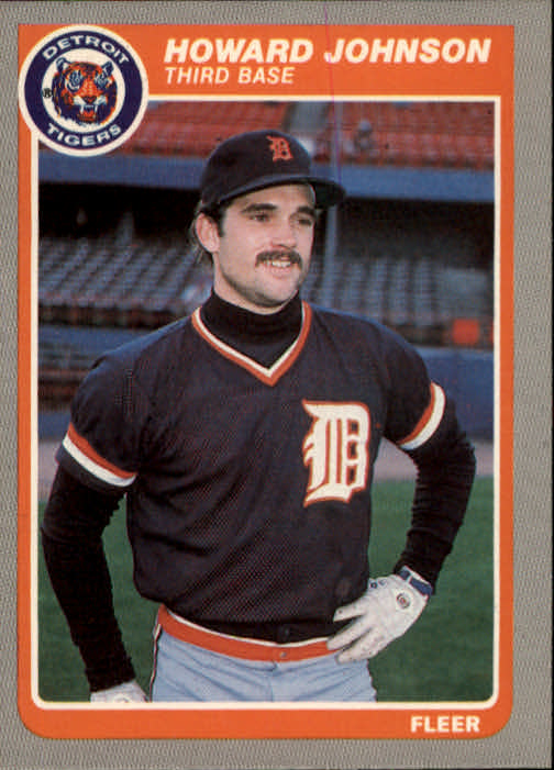 1985 Fleer #12 Howard Johnson