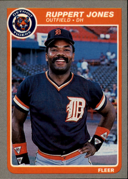 1985 Fleer #13 Ruppert Jones