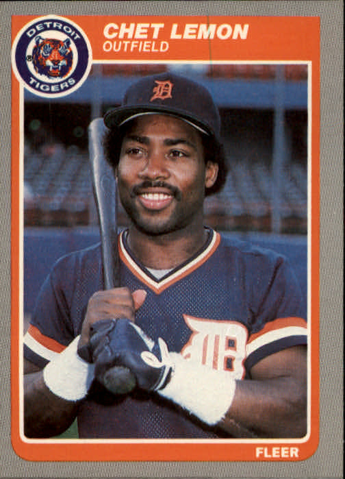 1985 Fleer #15 Chet Lemon