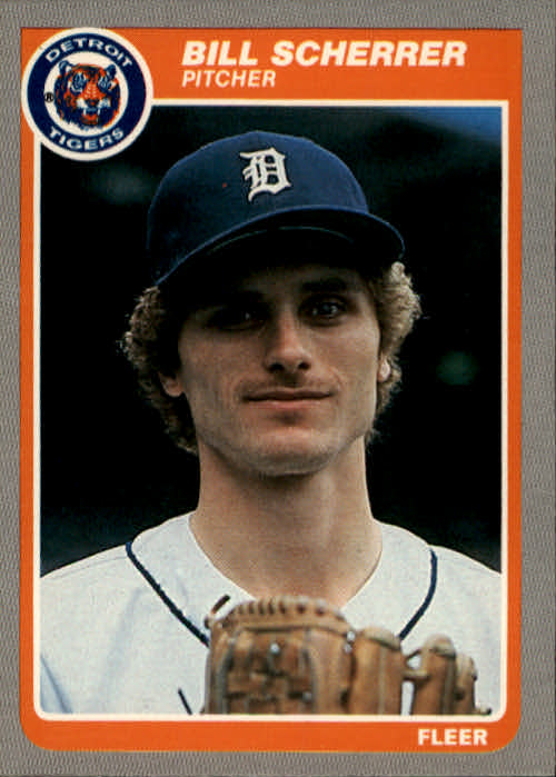 1985 Fleer #22 Bill Scherrer