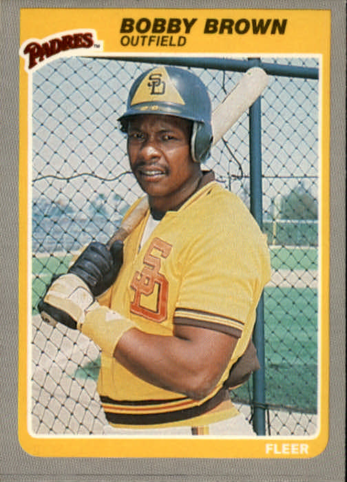 1985 Fleer #28 Bobby Brown