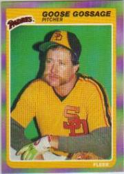 1985 Fleer #33 Rich Gossage