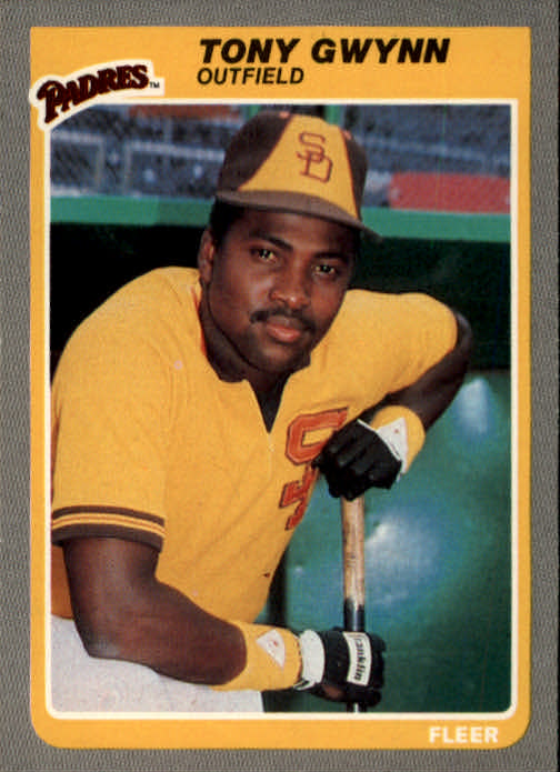 1985 Fleer #34 Tony Gwynn