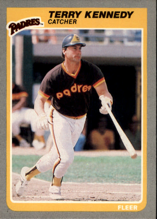 1985 Fleer #37 Terry Kennedy