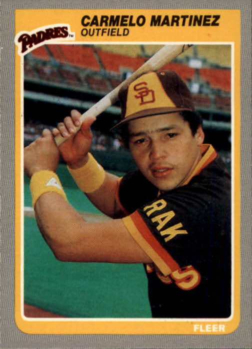 1985 Fleer #40 Carmelo Martinez