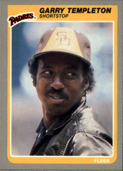 1985 Fleer #45 Garry Templeton