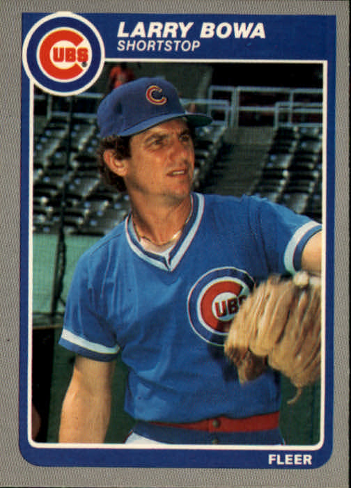1985 Fleer #50 Larry Bowa