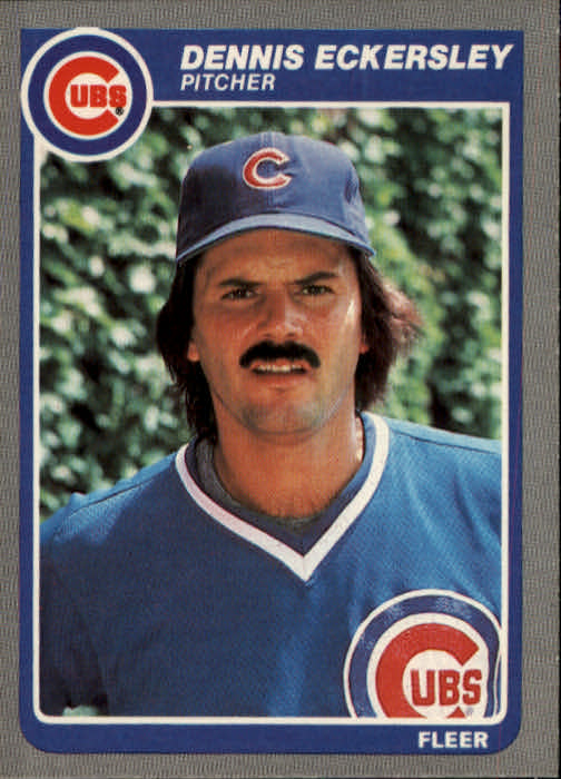 1985 Fleer #57 Dennis Eckersley