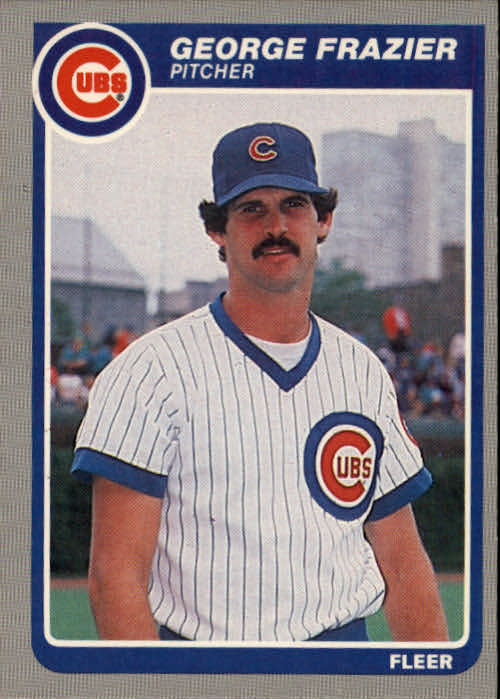 1985 Fleer #58 George Frazier